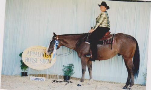 Winning Junior Horse Trail